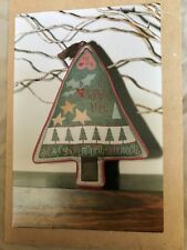 "Ewe & Eye & Friends ""Sampler Tree"" Cross Stitch Pattern NEW"
