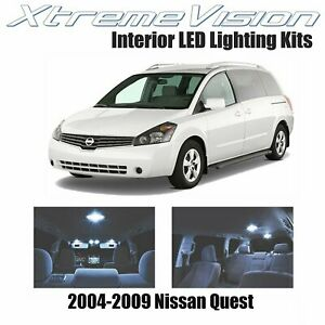 XtremeVision Interior LED for Nissan Quest 2004-2009 (11 PCS) Cool White