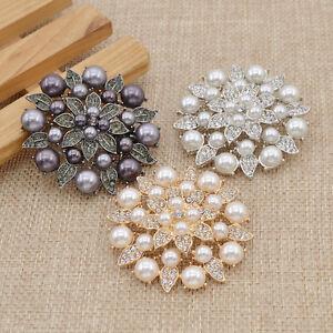 1 Pc Women Elegant Shoe Clips Wedding Bridal Accessories Rhinestone Floral Gift