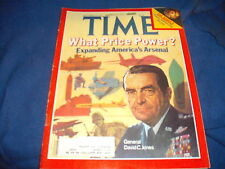 Time Magazine, What Price Power? The Nobels, October 29, 1979 *