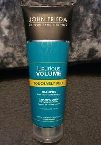 New John Frieda Luxurious Volume Touchably Full Shampoo 250ml
