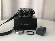 Fujifilm X100F 24.0 MP Digital Camera - Silver