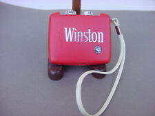 "VINTAGE ""WINSTON"" TRANSISTOR RADIO WITH ""ATOM"" SYMBOL"