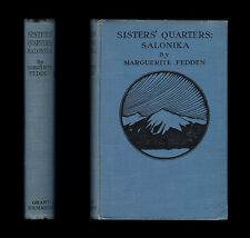 WWI 1921 Fedden SISTERS QUARTERS SALONIKA Macedonia BALKANS Nursing V.A.D Greece