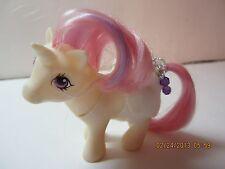 "Vintage My Little Pony ""Baby Unicorn Moon Dancer""1984-With Diaper & Comb"
