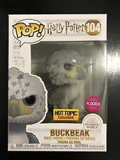 Funko Pop! Harry Potter Flocked Buckbeak (Black Eyes) Hot Topic Exclusive