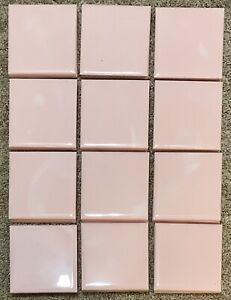 12 Vintage Pink Lady Marble Plastic Wall Tile Ridge Plastics (#2)