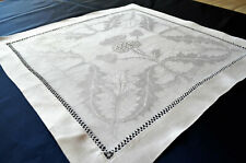 alte Servietten Platzdeckchen weiß aus Nachlass gebraucht