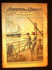 La Domenica del Corriere 12 novembre 1922 San Rossore Fedra D'Annunzio Voronoff