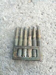 Lotto accessori ww1 ww2 da scavo regio esercito 1915-1918 bossolo