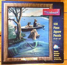 Jim Warren Puzzle Surprise Encounter JW75504 550 Piece Jigsaw MERMAID OCEAN NEW