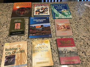 My Father's World:Exploration to 1850 9 pc Lot Teacher's Guide