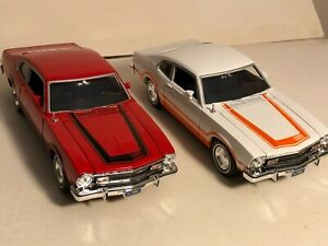 ONE OF MOTORMAX 1974 FORD MAVERICK GRABBER 1:24 DIECAST MODEL CAR NEW NO BOX
