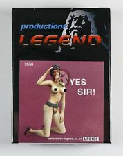 "Legend 1/35 ""Yes Sir!"" Girl in Lingerie with Flight Helmet Saluting LF0105"