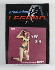 "Legend 1/35 ""Yes Sir!"" Girl in Lingerie with Flight Helmet Saluting LF0105"
