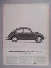 Volkswagen VW Beetle Bug PRINT AD - 1966
