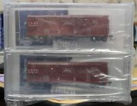 HO Scale - BROADWAY LIMITED IMPORTS 2685 CB & Q 40' Dispatch K7 Stock Car 4-Pack