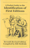 NEW!! A Pocket Guide to the Identification of First Editions McBride 7th Edition