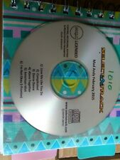 CD+G Customised Karaoke Disc 6 tracks free p&p