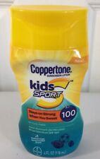 Coppertone Kids Sport Sunscreen SPF 100 Lotion, 4 Fl Oz New