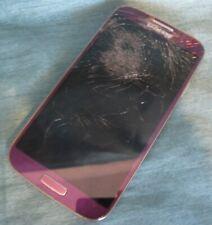 Samsung Galaxy S4 SPH-L720T - 16GB Purple Sprint - AS-IS BAD SCREEN