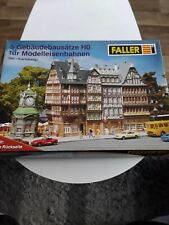 Faller HO 180670, 5 Altstadt-Gebäudebausätze, Set Karlsberg, in geöffneter OVP