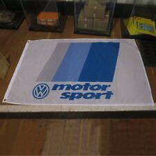 Volkswagen VW Motorsport Flag Banner Sign rabbit golf gti jetta vw scirocco r