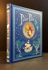 PETER PAN by J.M. BARRIE (Bonded leather Hardcover) - New