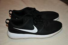 Nike Roshe G Golf Shoes - Mens Size 13 Black White - CD6065-001 Spikeless Golf