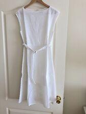 NWT Theory White Eyelet Dress Size 2