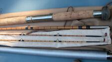 F.E. Thomas Fly rod, cane spey rod.