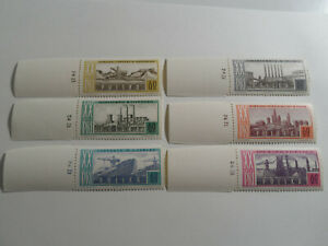 Discount Stamps : POLAND 1964 SC#1246-51 HEAVY INDUSTRY MANUFACTURING 6v MNH