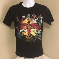 Harry Potter Wizarding World Universal Studios Mens T-Shirt Black Small FS!