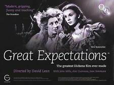 Great Expectations - Original UK BFI Re-Release British Quad Poster 40x30 inches