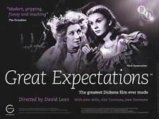 Great Expectations - Original UK BFI Re-Release British Quad Poster 40x30 inches