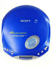 Sony Walkman D-E350 Blue CD Player ESP Max Parts Only Non Working Rebuild Music