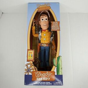 Disney Toy Story 4 Talking Sheriff Woody Interactive Action Figure Doll - Open