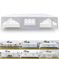 10'x30' Heavy Duty Outdoor Wedding Party Tent Patio Gazebo Canopy w/8 Side Walls
