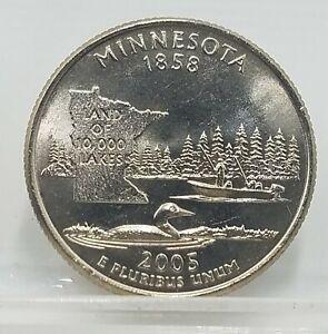 2005 Minnesota Quarter | Philadelphia | 25 cent Statehood Quarter Coin