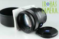 Sony Carl Zeiss Planar T* 85mm F/1.4 ZA  Lens for Sony AF #20124 F5