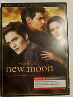 The Twilight Saga: New Moon (DVD, 2010, 3-Disc Set, Deluxe Edition)