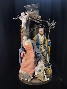 Nativity Nativita 40Cm Creche Neapolitan Krippen Kunst Nascimientos