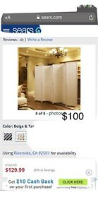 6ft Room Divider/folding Screen!!Never Used