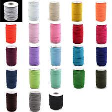 5m (0,50€/m) - 50m (0,29€/m) Gummikordel 3mm - 24 Farben- Gummischnur Hutschnur