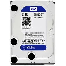 WD - Blue 2TB Internal SATA Hard Drive for Desktops