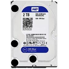 WD - Blue 2TB Internal SATA Hard Drive for Desktops