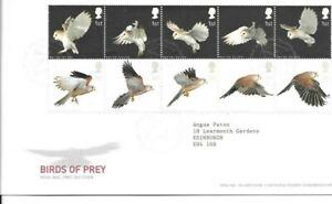 GB 2003 Birds of Prey FDC