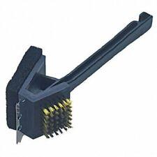 "14"" New 3-in-1 Stain Steel Bristle Brush Bbq Grill Steel Scraper Edge Clean Tool"
