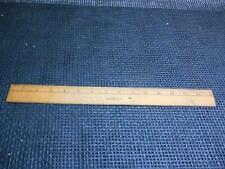 Old Vtg SENCO RULER #916-15 15 Inch Wood Rule Metal Edge Measuring Instrument