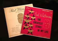 PAUL WHITEMAN '50th Anniversary' & 'The Greatest Stars In My Life' Mono G.A.
